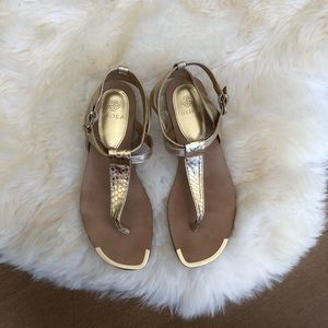 "Gold Isola ""Kaimi"" sandals"
